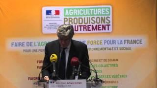 2015 - L'an 1 de l'agro-écologie - Discours Stéphane Le Foll
